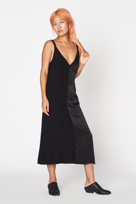 Lacausa Clothing Dual Satin Dress