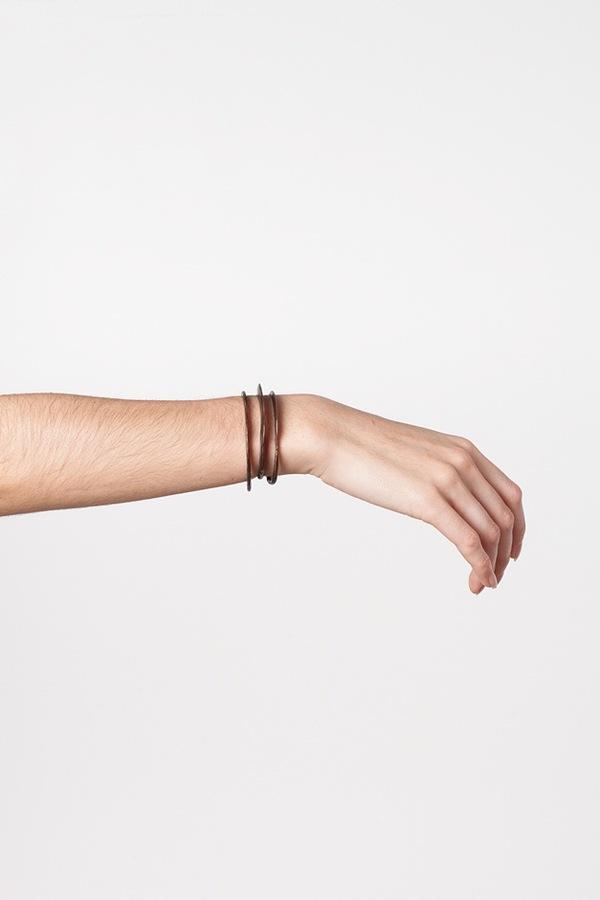 WWAKE Asymmetrical Stack Cuff