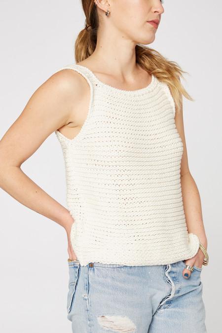 Lacausa Clothing Mia Hand Knit Tank