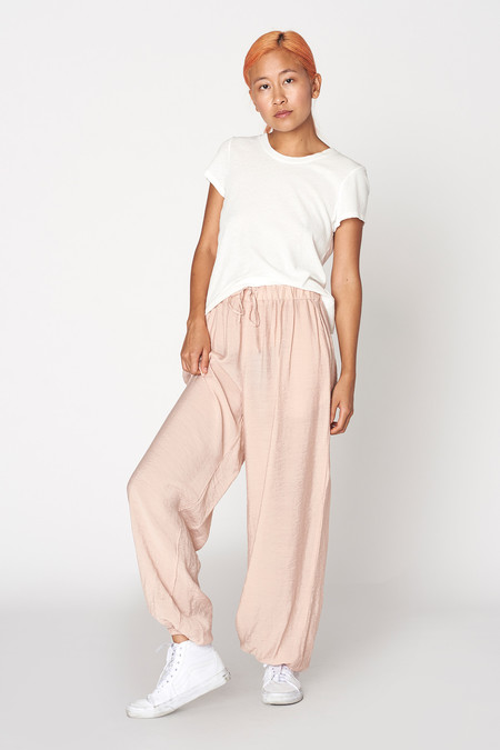 Lacausa Clothing Scrunchie Pants
