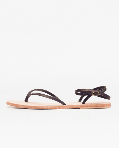 Nisolo Cora Wrap Sandal Noir 5 for 5
