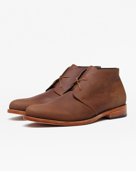 Nisolo Luca Chukka Boot Oak 5 for 5