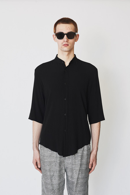 Assembly New York Crepe Non-collar Shirt