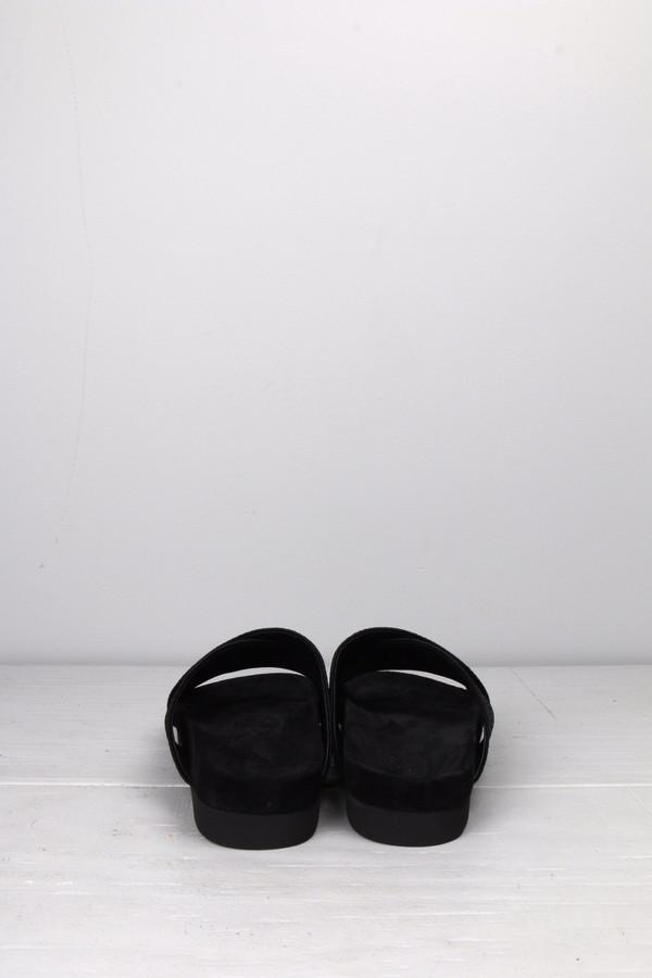 L'agence Cross Sandal Embossed