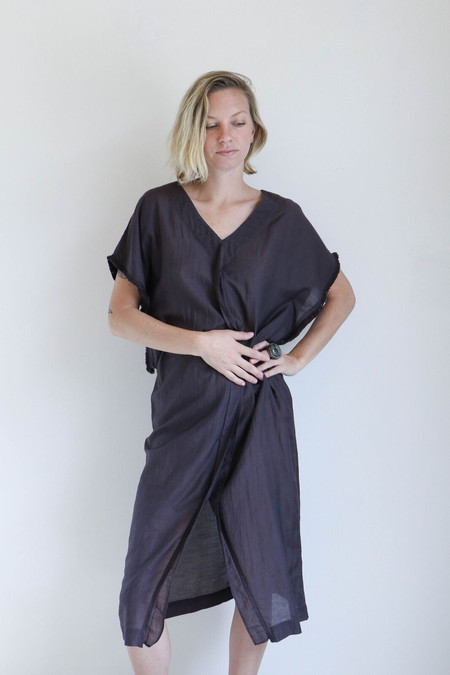 Mirth Caftans El Tule Caftan in Soft Black