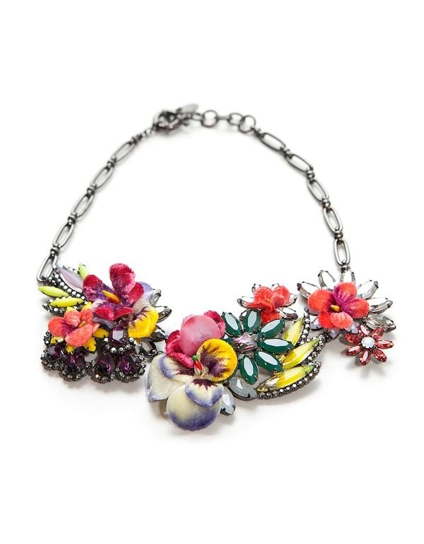 Elizabeth Cole Bouquet Necklace