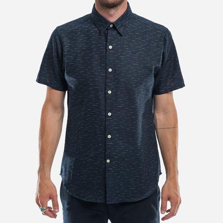 18 Waits The Dylan Shirt (S/S) - Indigo Dashes