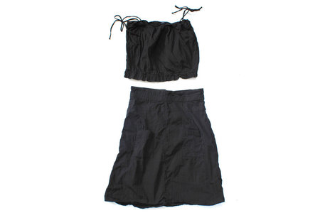 Pietsie Patmos Top and Skirt - Ink Black