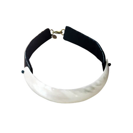 Parme Marin Mother of Pearl Choker
