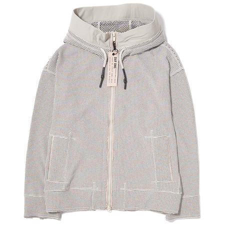 Adidas Day One Waffle Hooded Track Top / Clear Brown