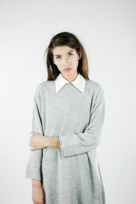 Achro Side Slit Long Sweater