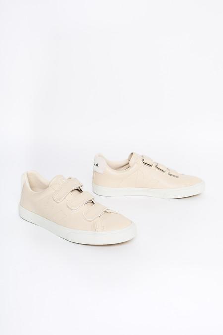 VEJA 3-lock Velcro Sneaker In Sable Pierre