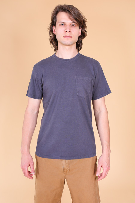 Jungmaven Baja Short Sleeve T-Shirt In Diesel Gray