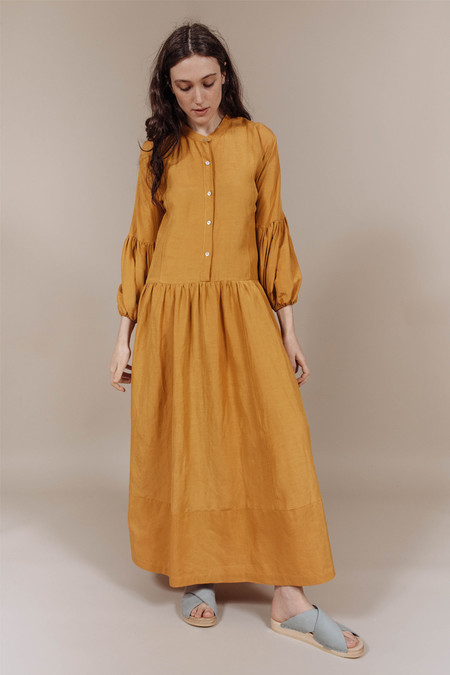 Kamperett Ferou Dress in Marigold