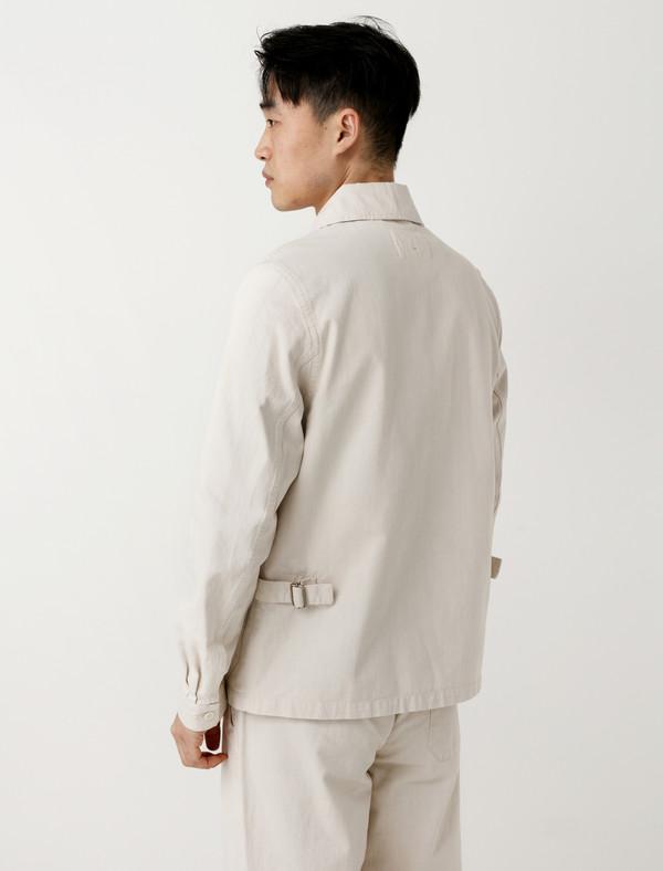 Margaret Howell MHL Side Adjustor Jacket Natural Denim