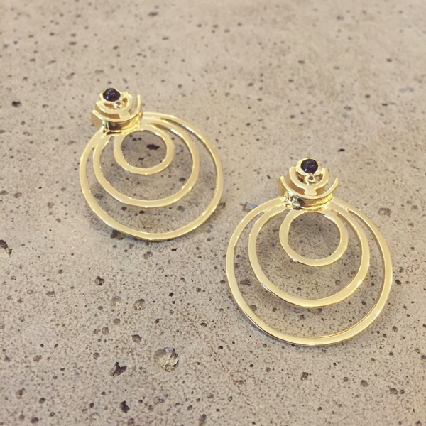 Gillian Steinhardt Dynasty Hoop Earrings