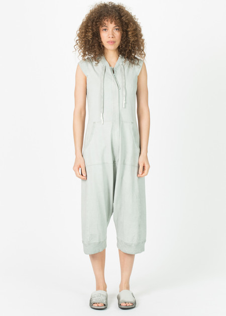 Rundholz Sleeveless Zip Casual Jumpsuit