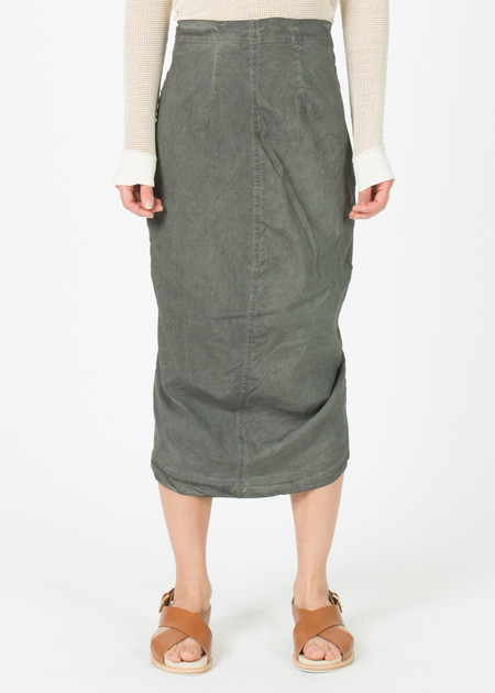 Rundholz Stretch Linen Funnel Skirt