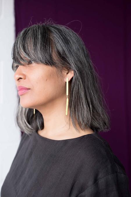 Studio Sophia Sophia Chromosomes earrings