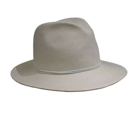 Yestadt Millinery NOMAD PACKABLE FEDORA IVORY