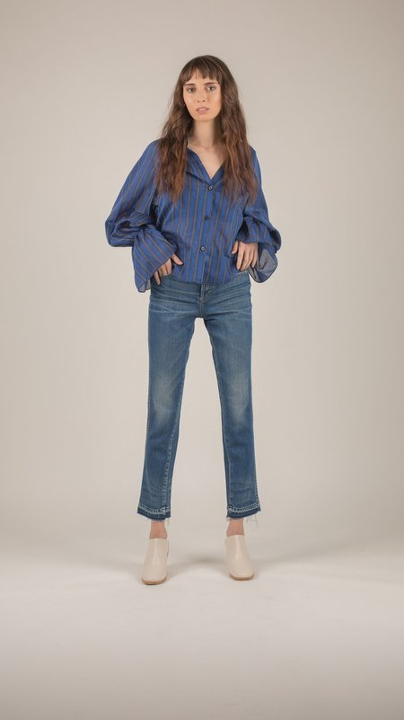 Rachel Comey - Banker Stripe Union Shirt