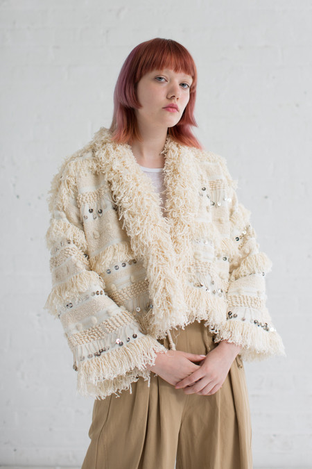 Ulla Johnson Raina Jacket in Natural
