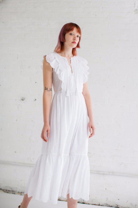 Ulla Johnson Vera Dress in Blanc
