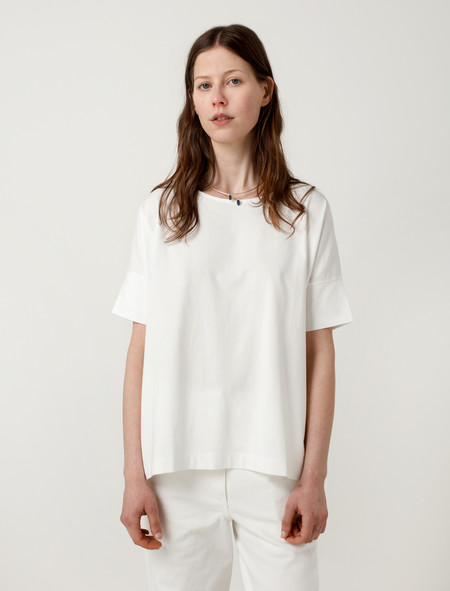 Lemaire Short Sleeve Loose Fit T-Shirt