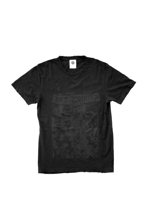 Assembly New York Cotton Dead T-Shirt - Black