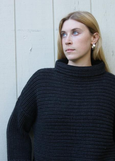 Micaela Greg Parallel Pullover - Black