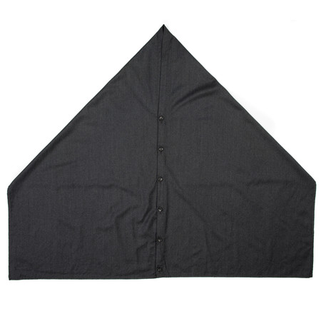 Engineered Garments Button Shawl - Grey Worsted Wool