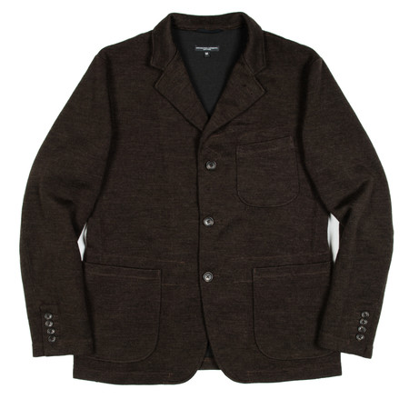 Engineered Garments Knit Blazer - Brown Wool Jersey