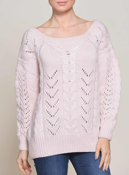 Ryan Roche - Cableknit Sweater