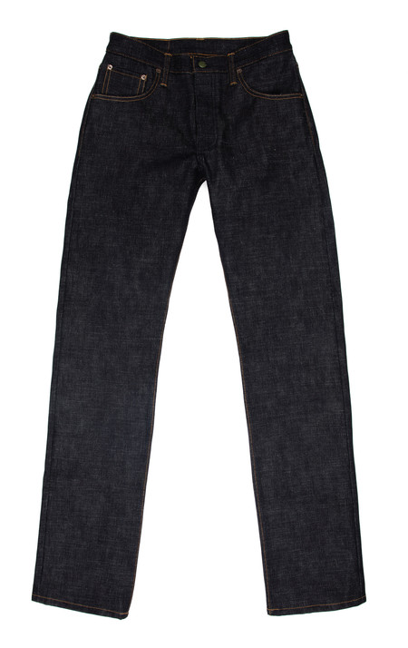 Men's Left Field NYC Chelsea Jeans—Collect Mills 18 oz Heavy Slub