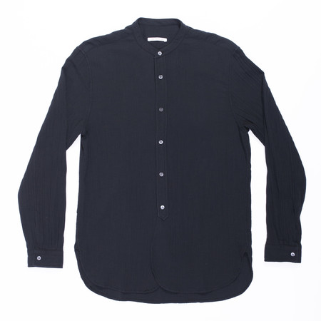 s.k. manor hill Kalamazoo Shirt - Black Organic Cotton