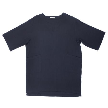 s.k. manor hill Oba Shirt - Black Organic Cotton