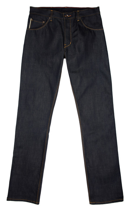 Raleigh Denim + Workshop Jones Thin Jeans - Cone Mills 12.5 Ounce