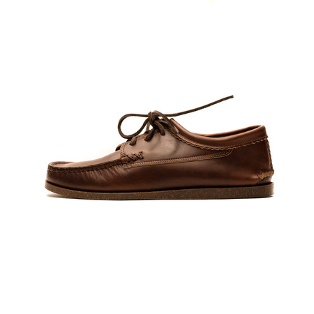 Yuketen Kiltie Blucher with Camp Sole - Brown Chromexcel