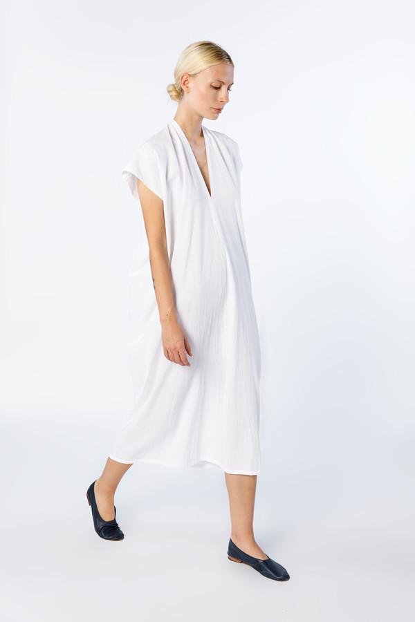 Miranda Bennett Everyday Dress, Oversized, Cotton in White