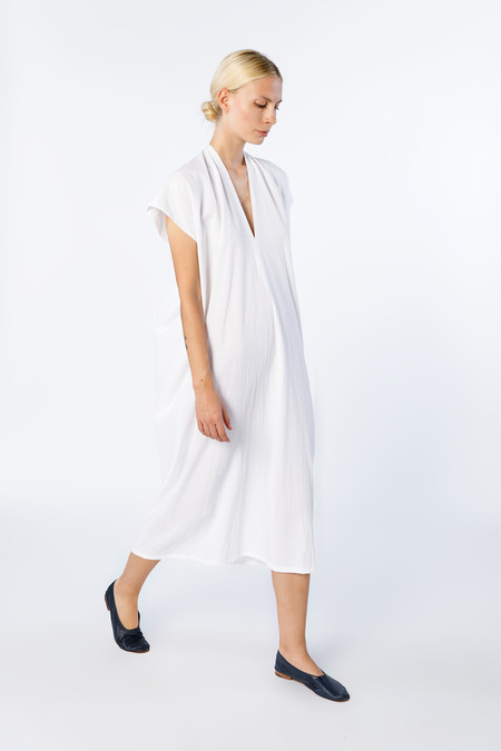 Miranda Bennett Everyday Dress, Oversized, Cotton in White