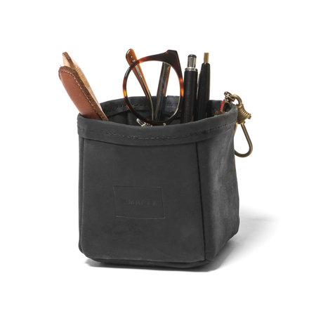 Maple Pen Holder Suede - Black
