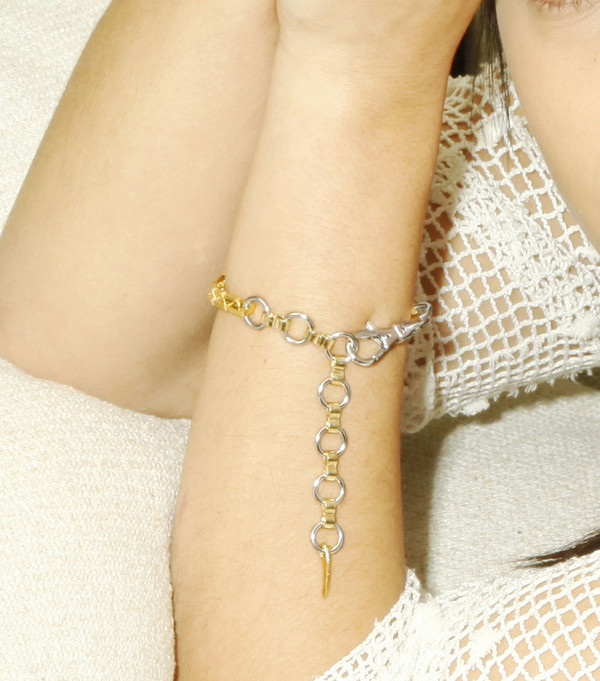 Alynne Lavigne industrial bracelet