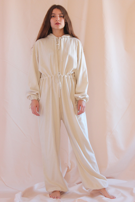 Baserange Hooded jumpsuit