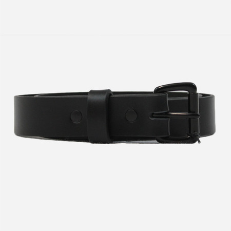 Apogee Daily 11oz Leather Belt - Black/Black