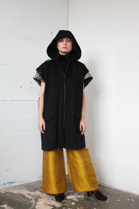 Short Sleeve Wool Hoodie