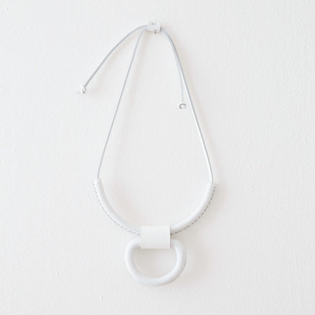 Crescioni Union Necklace - White