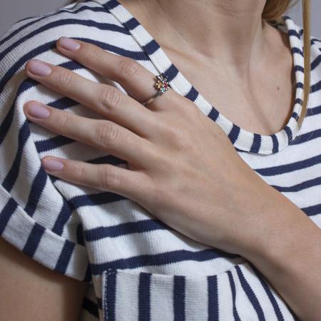 Sarah De Gasperis Splash Ring