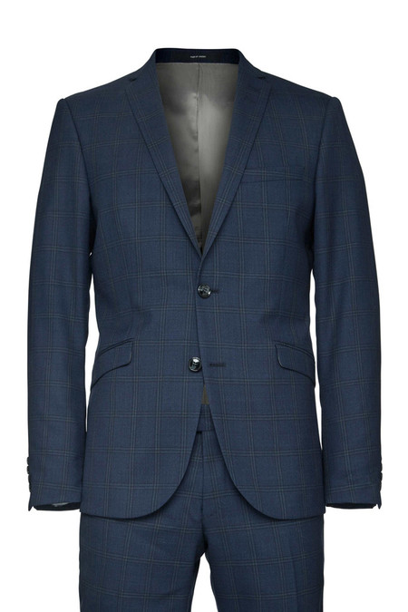 Tiger of Sweden Harrie Suit - Blue Check