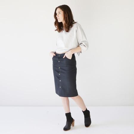 Button-Up Skirt