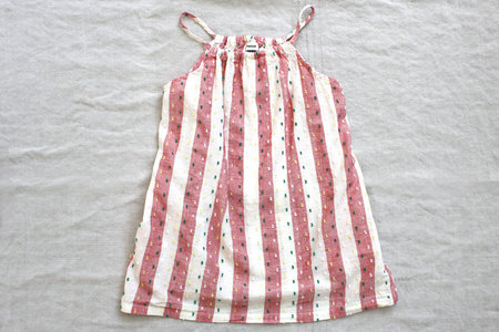 Kid's pietsie Antibes Dress - Lollipop Stripe